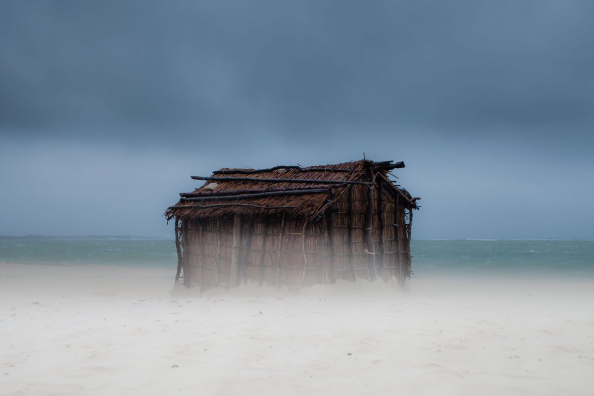 house of a traditional fisher in southwestern Madagascar