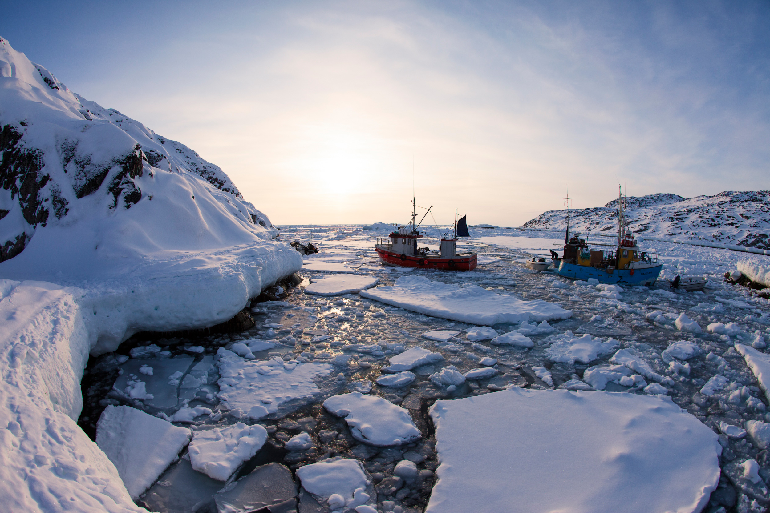 the seal hunters of greenland a photo essay hakai magazine eager fishermen ram the spring ice their boats to access productive fishing grounds