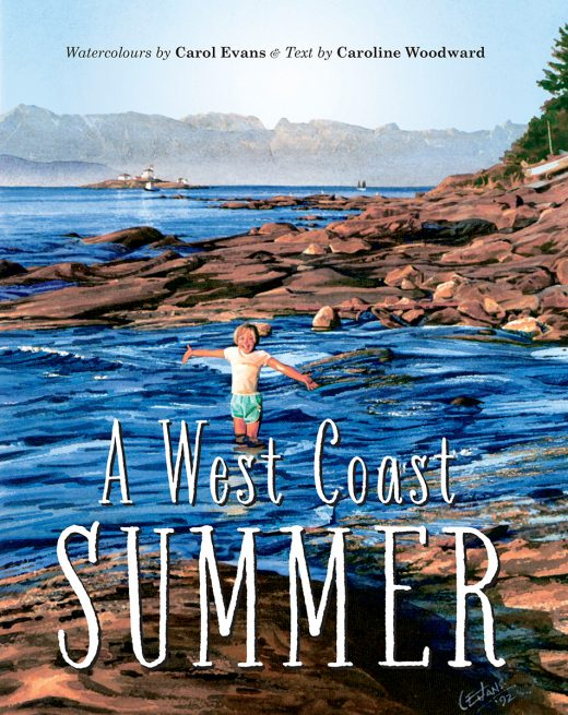 Cover image of A West Coast Summer