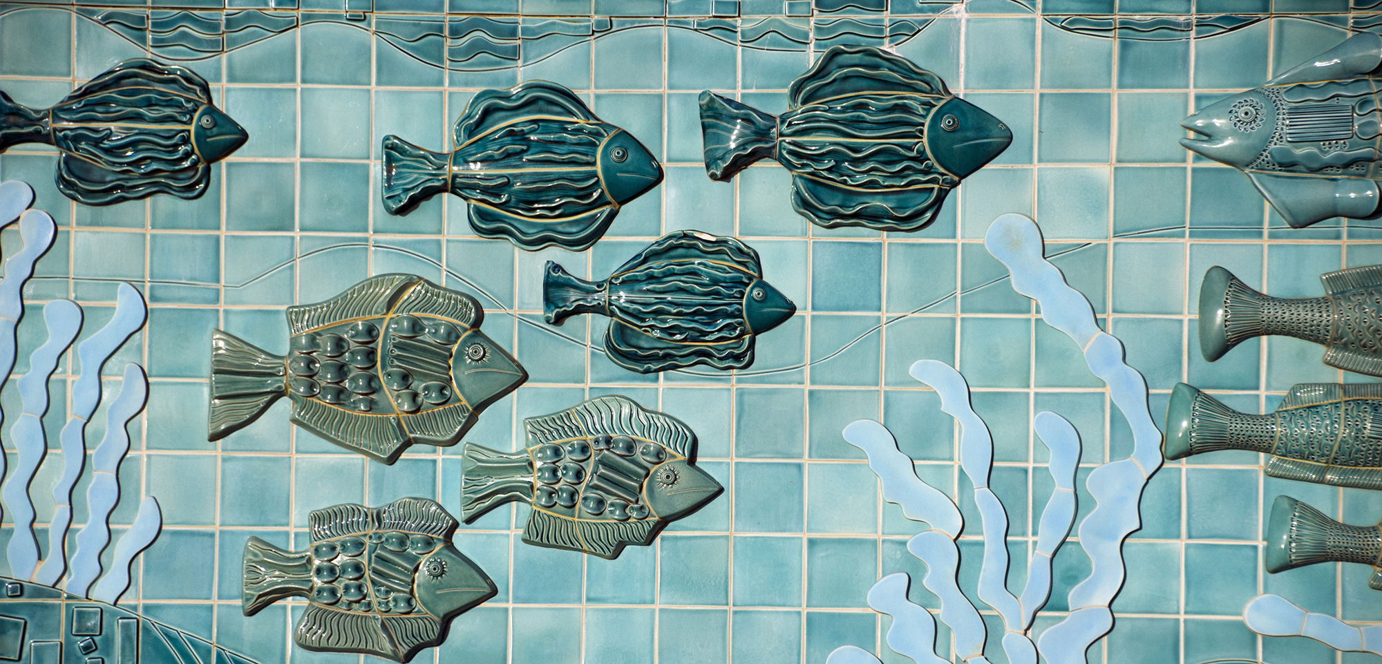 Before people started making ceramic fish, they had to invent pottery—something that may have been done to help with processing fish. Photo by Mitch Diamond/Ocean/Corbis