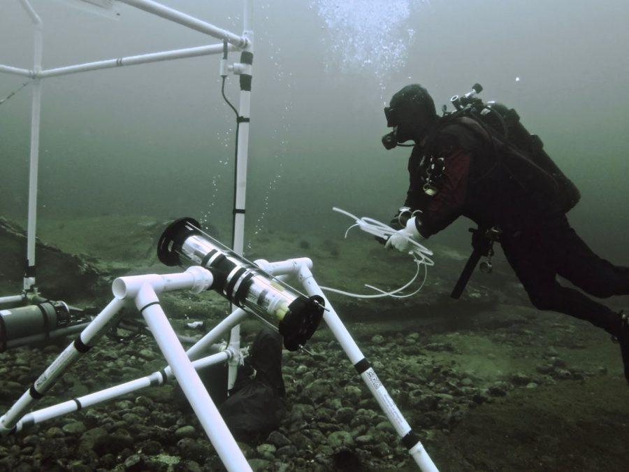 underwater recording equipment