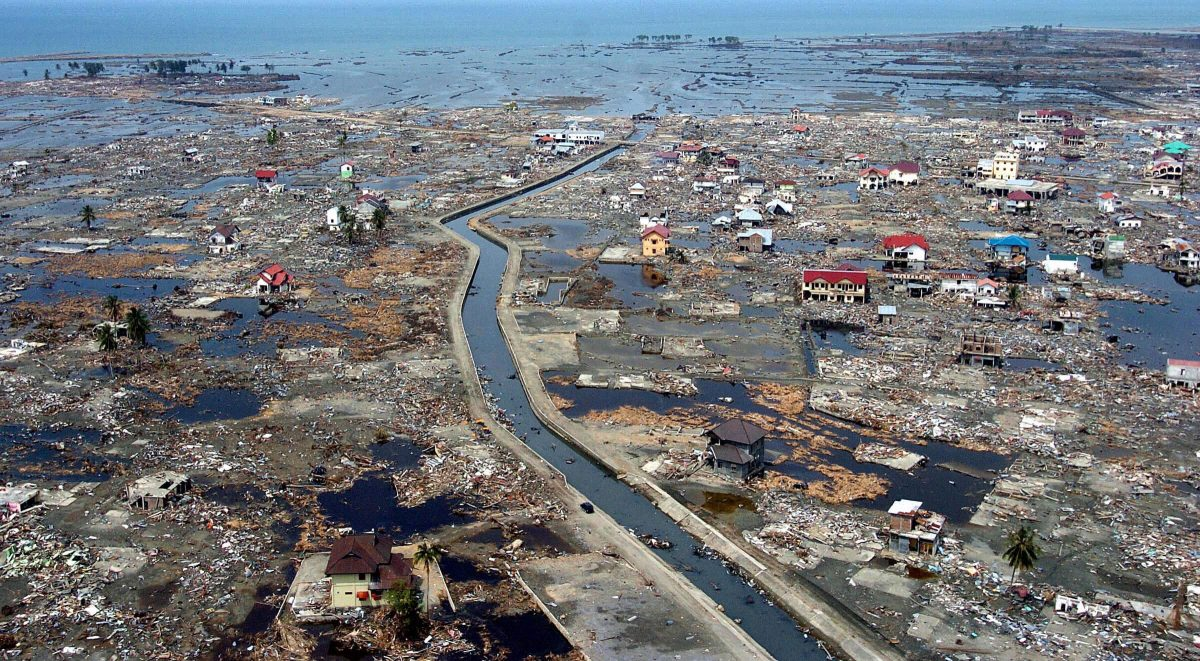 Banda Aceh after the 2004 tsunami