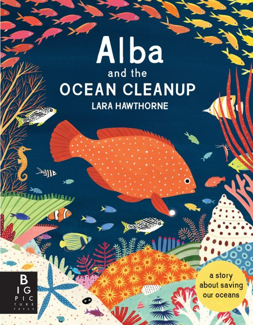 cover of Alba and the Ocean Cleanup