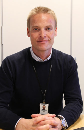 Aleksander Handå, research manager for SINTEF, a fisheries and aquaculture research institute in Trondheim, Norway. Photo by Claire Eamer
