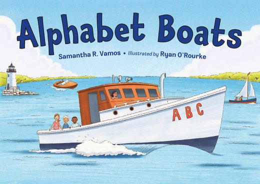 Cover image of book Alphabet Boats