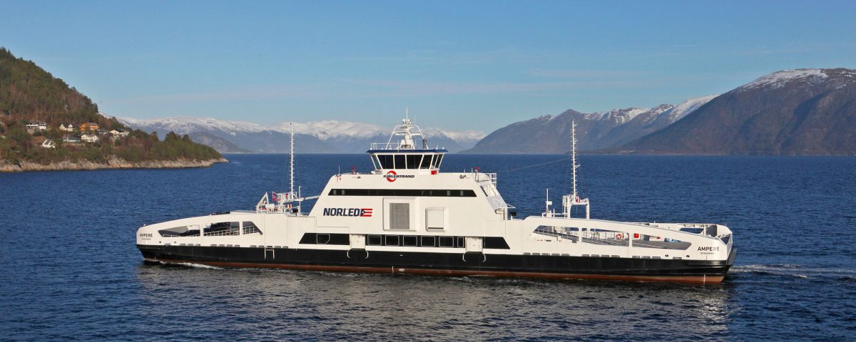 MS Ampere, electric car ferry