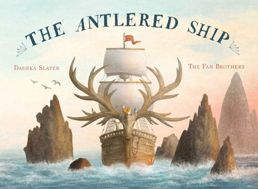 Cover for The Antlered Ship