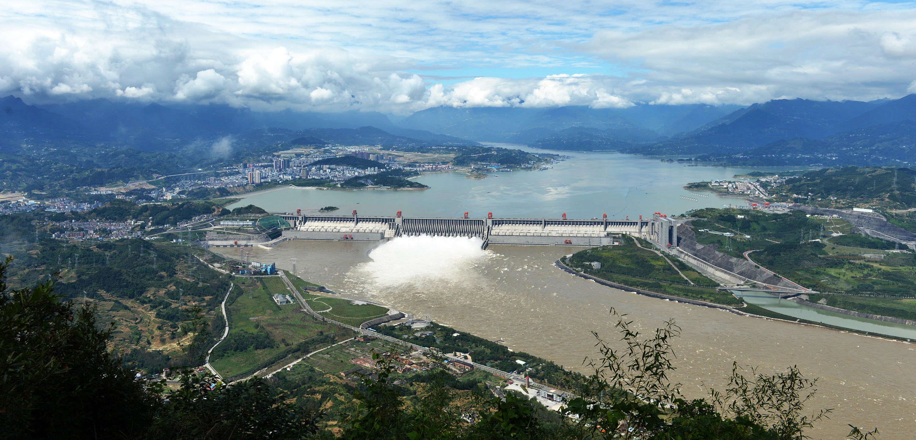 The Three Gorges Dam, which holds back China's Yangtze River, is the largest hydropower dam in the world. Photo by Imaginechina/Corbis