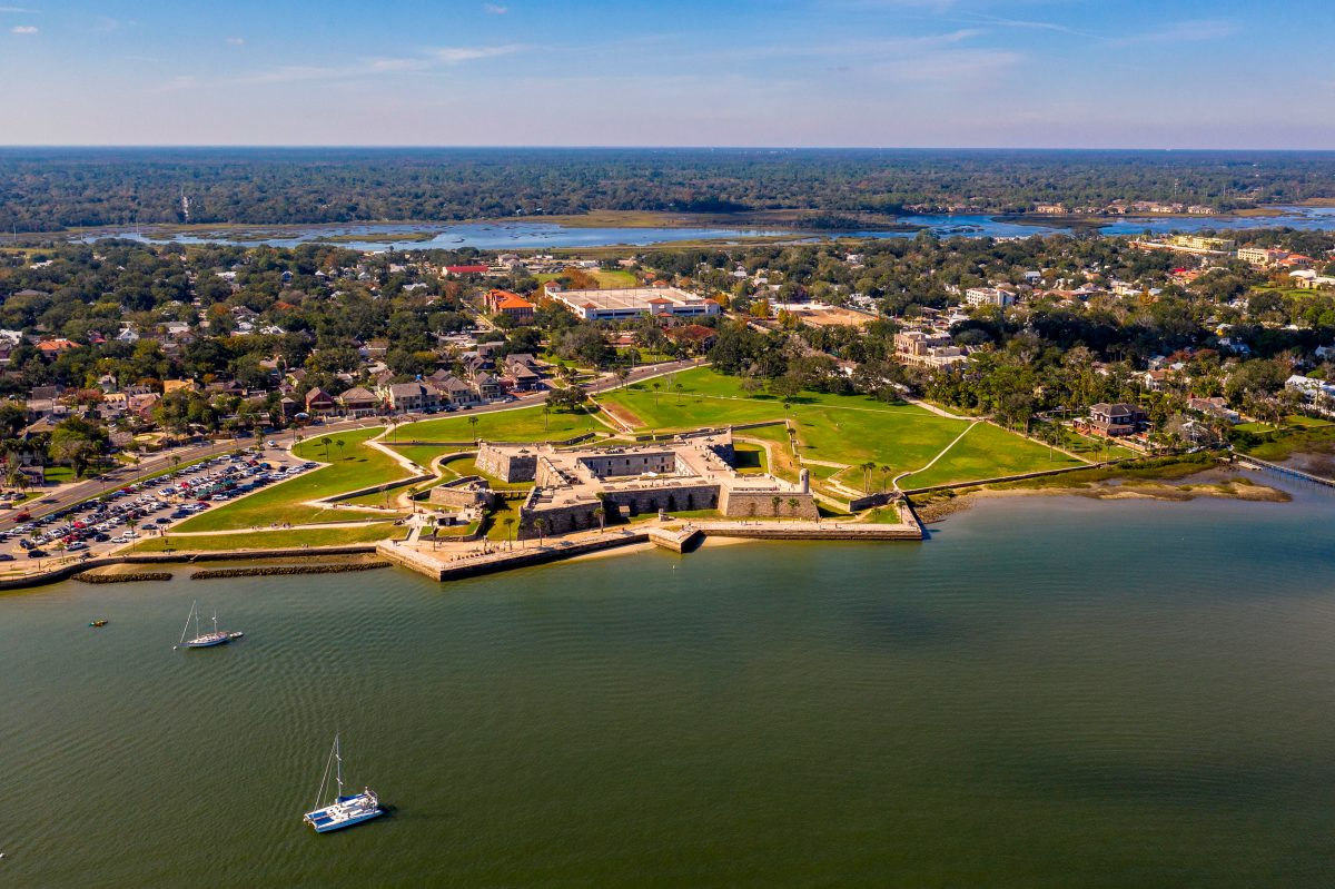 St. Augustine's famed Castillo de San Marcos National Monument