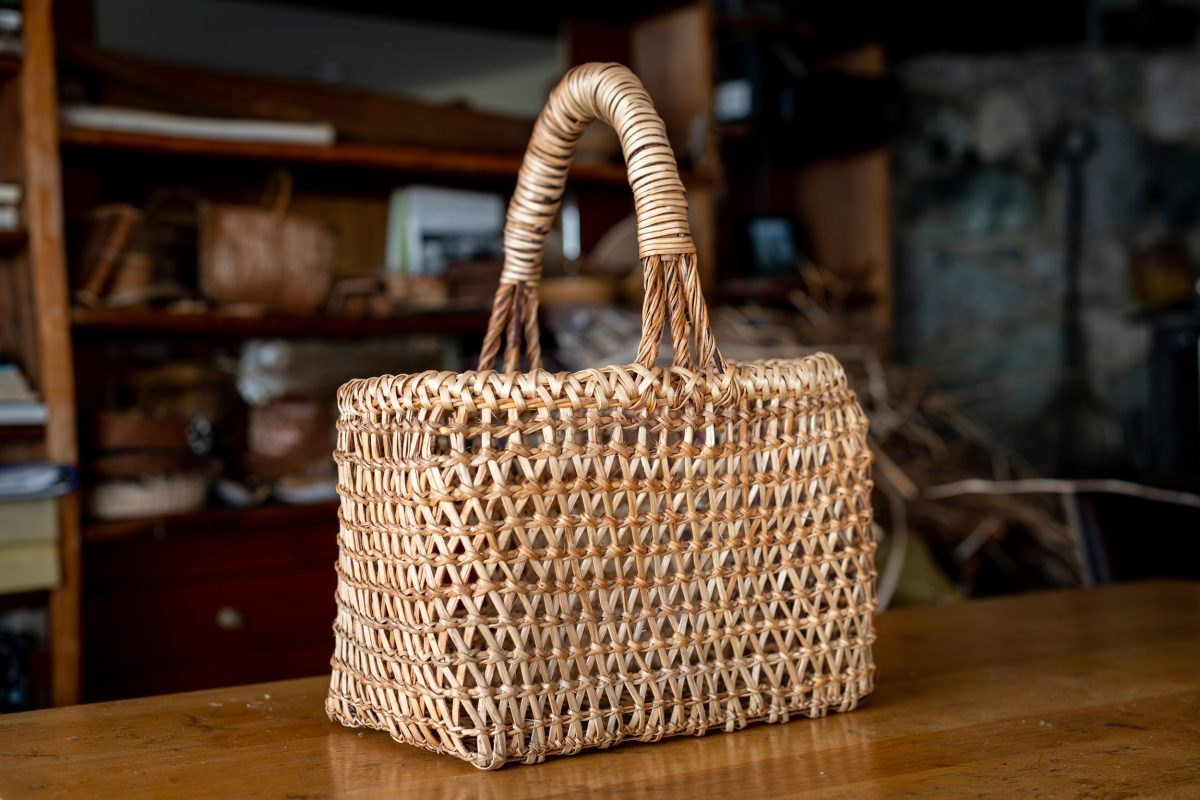 clam gathering basket