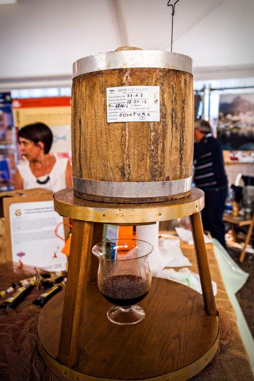 colatura fermenting barrel
