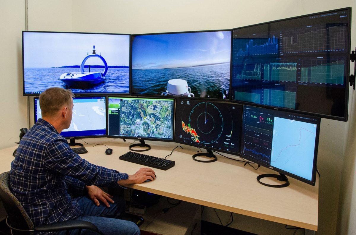 Open Ocean Robotics control room