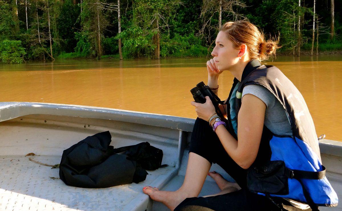 Danica Stark, a Canadian primatologist