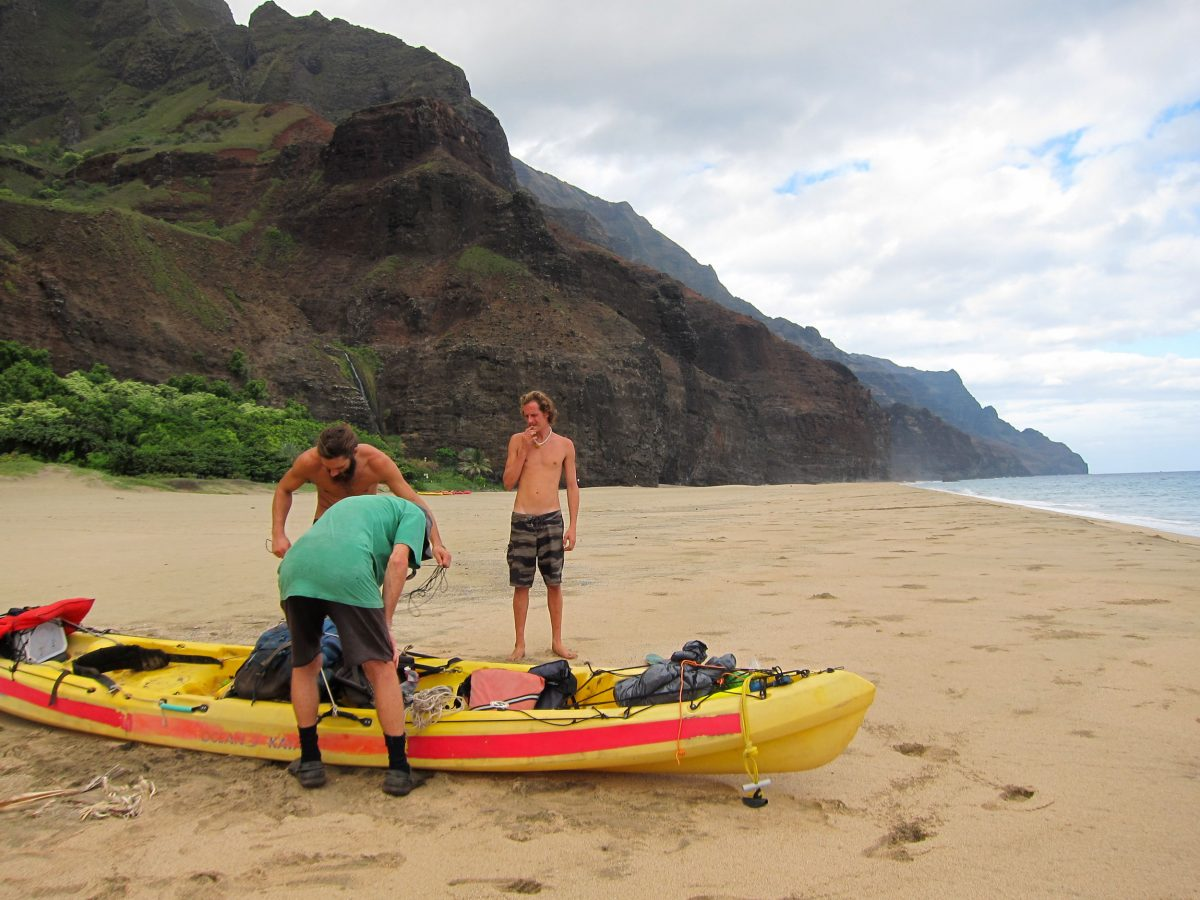 squatters in the Kalalau Valley
