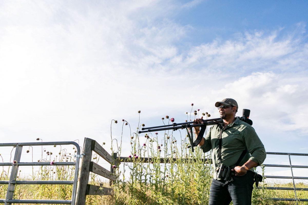 ornithologist Drew Lanham