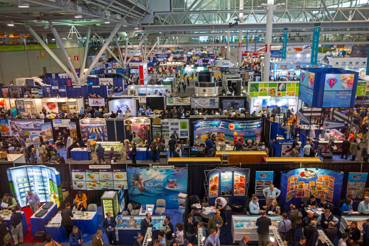 Seafood Expo North America in Boston