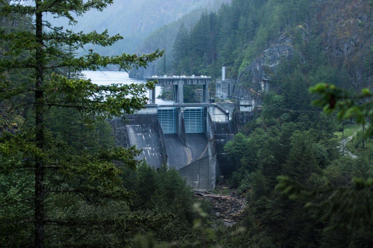 the gorge dam
