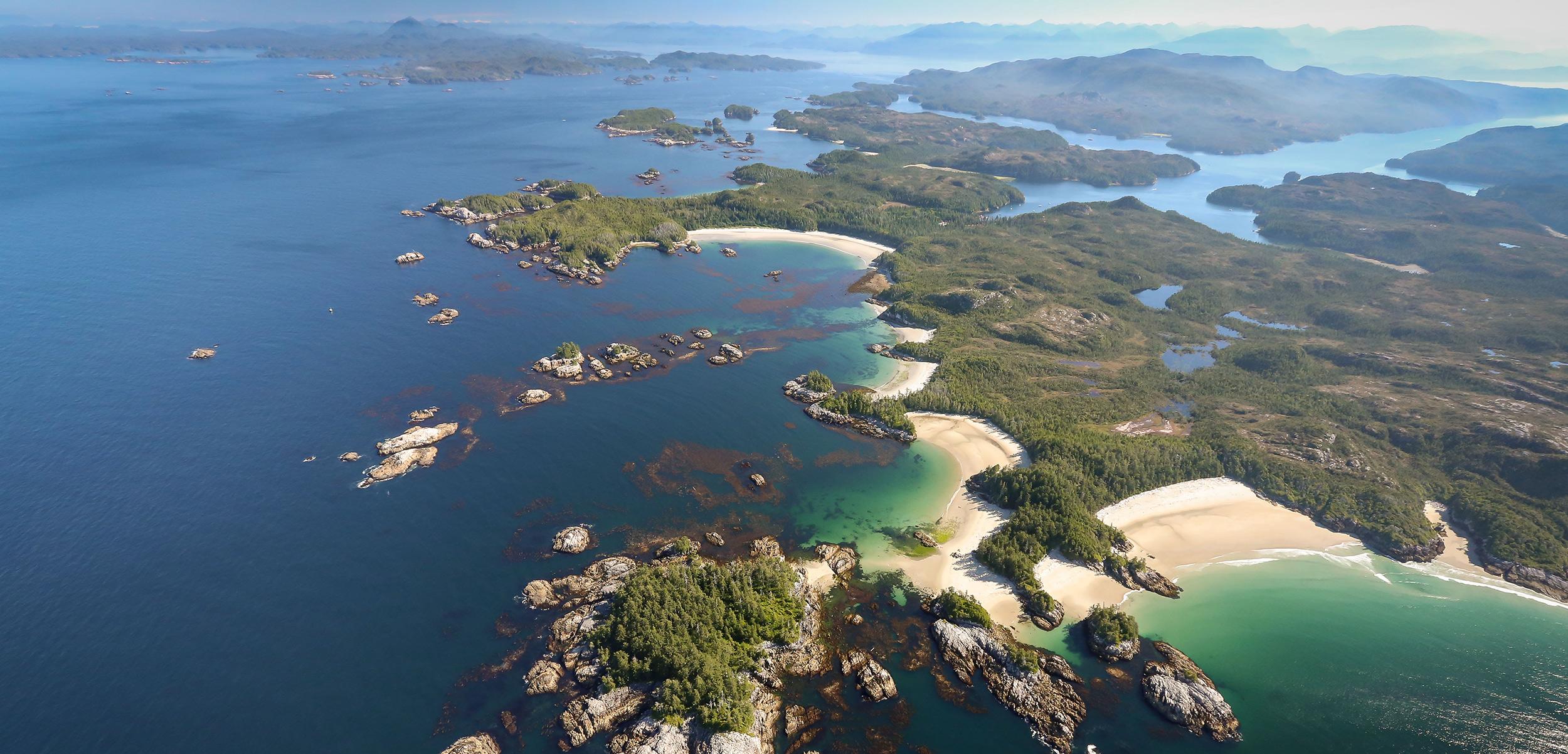 Calvert Island on the Central Coast of British Columbia, Canada