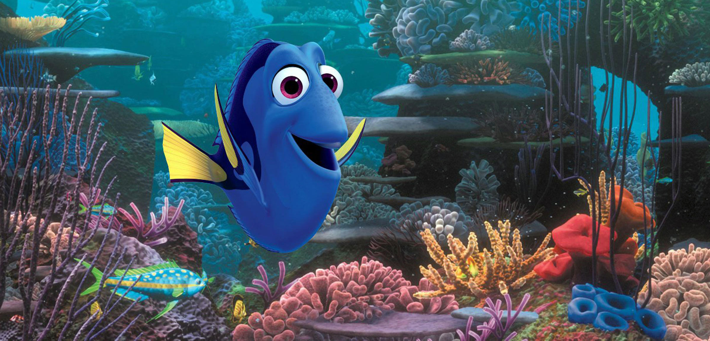still from the movie Finding Dory