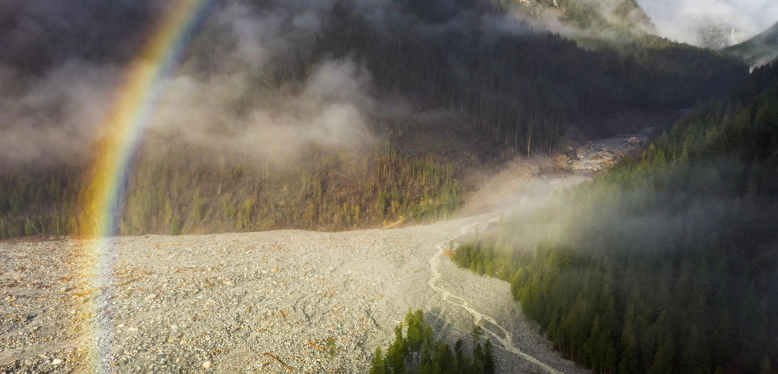 The Bute Inlet landslide