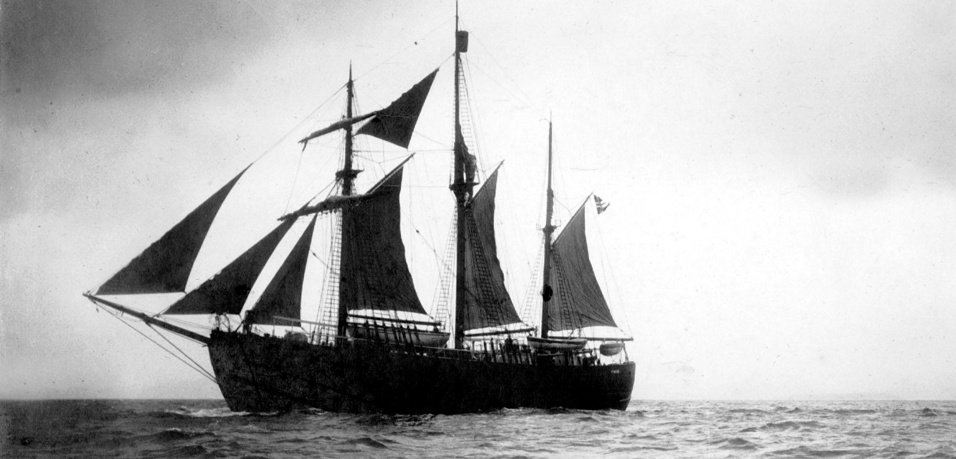 Norwegian explorer Fridtjof Nansen's ship, Fram