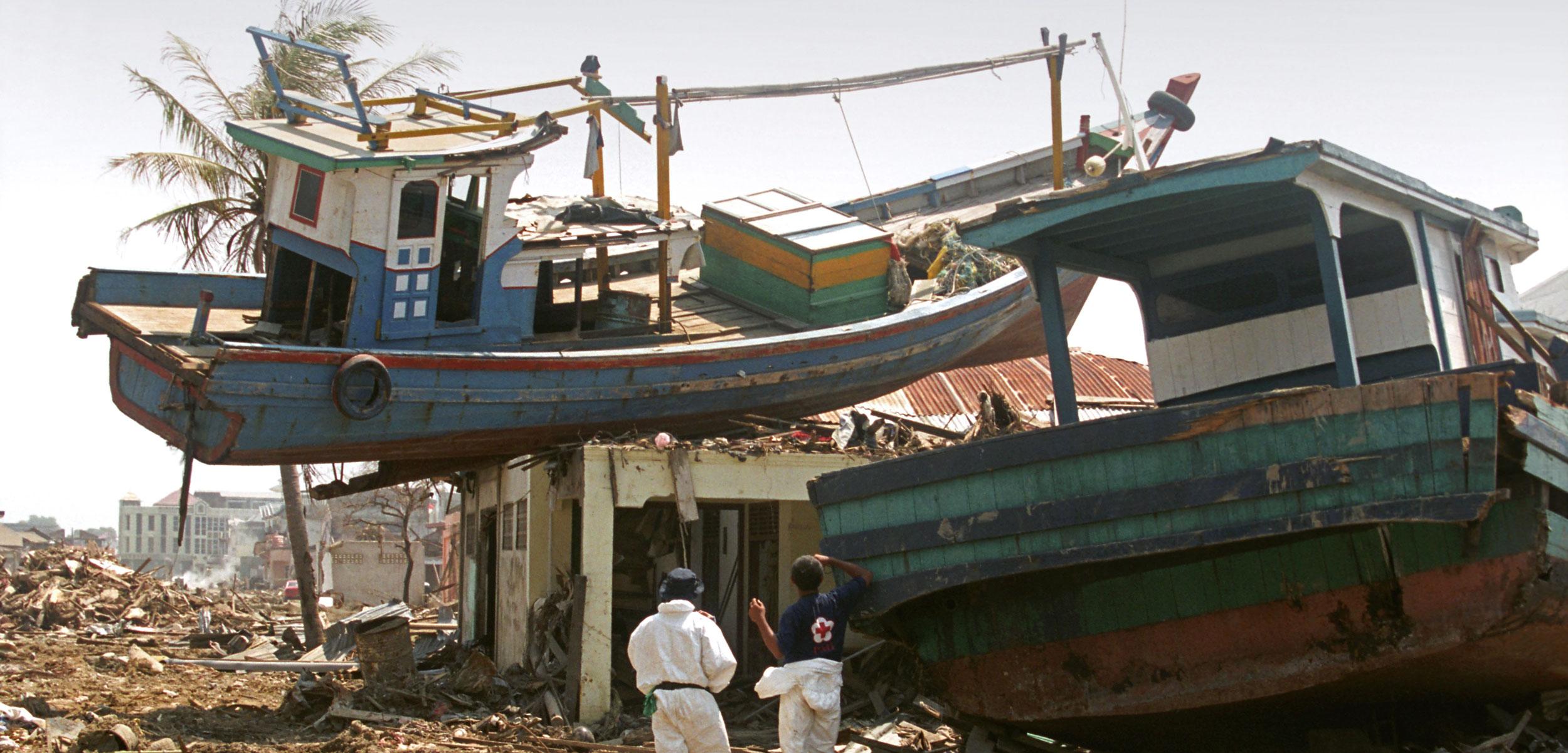 Tsunami Banda Aceh Sumatra Indonesia 2004