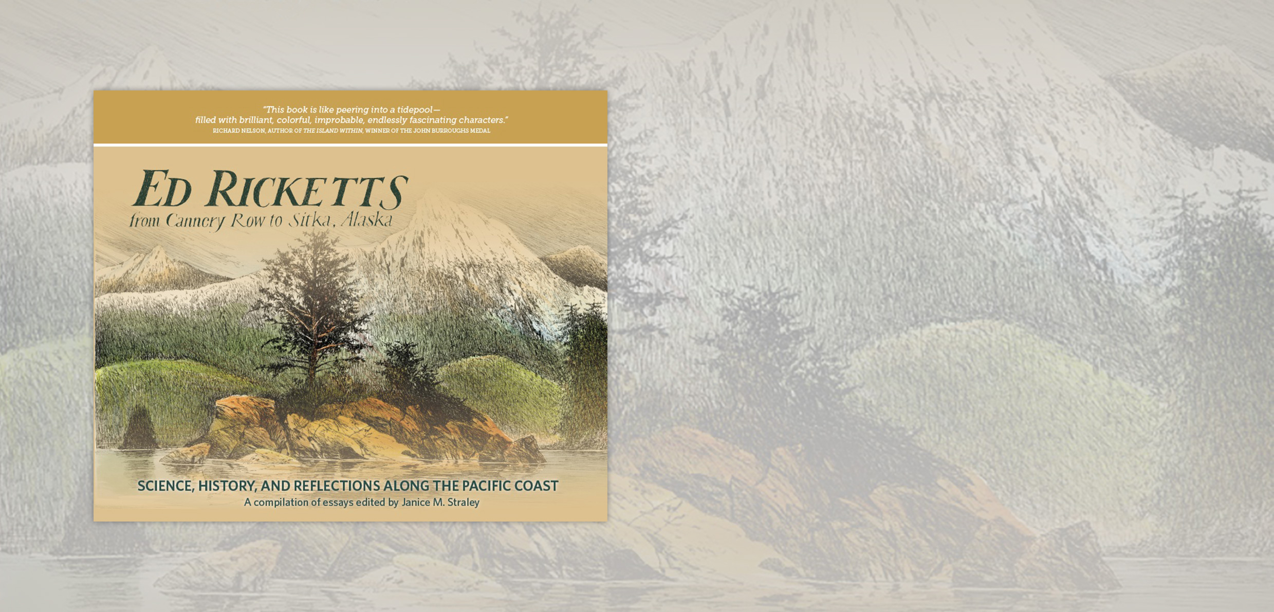book review ed ricketts from cannery row to sitka alaska hakai  cover image courtesy of shorefast editions