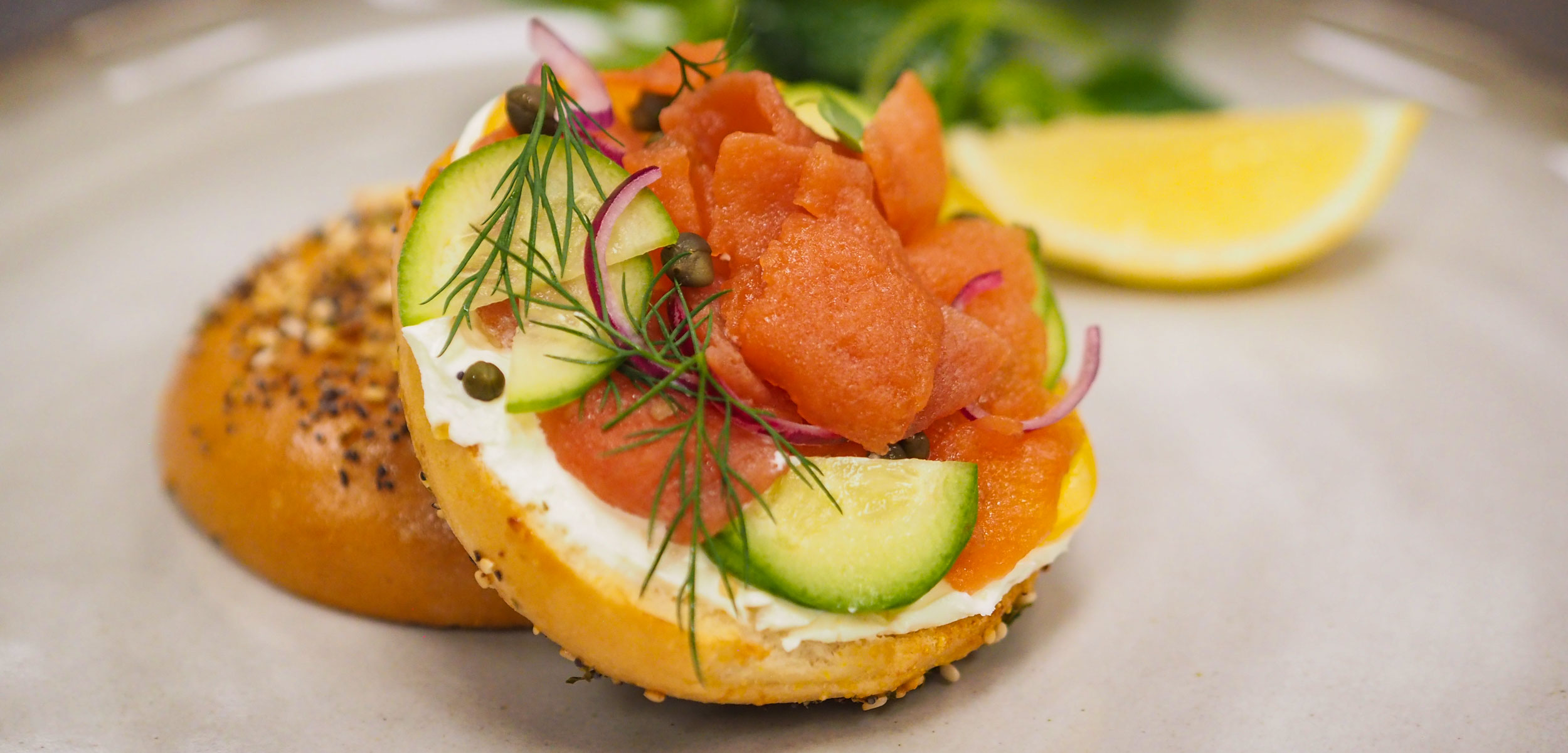 lox on a bagel