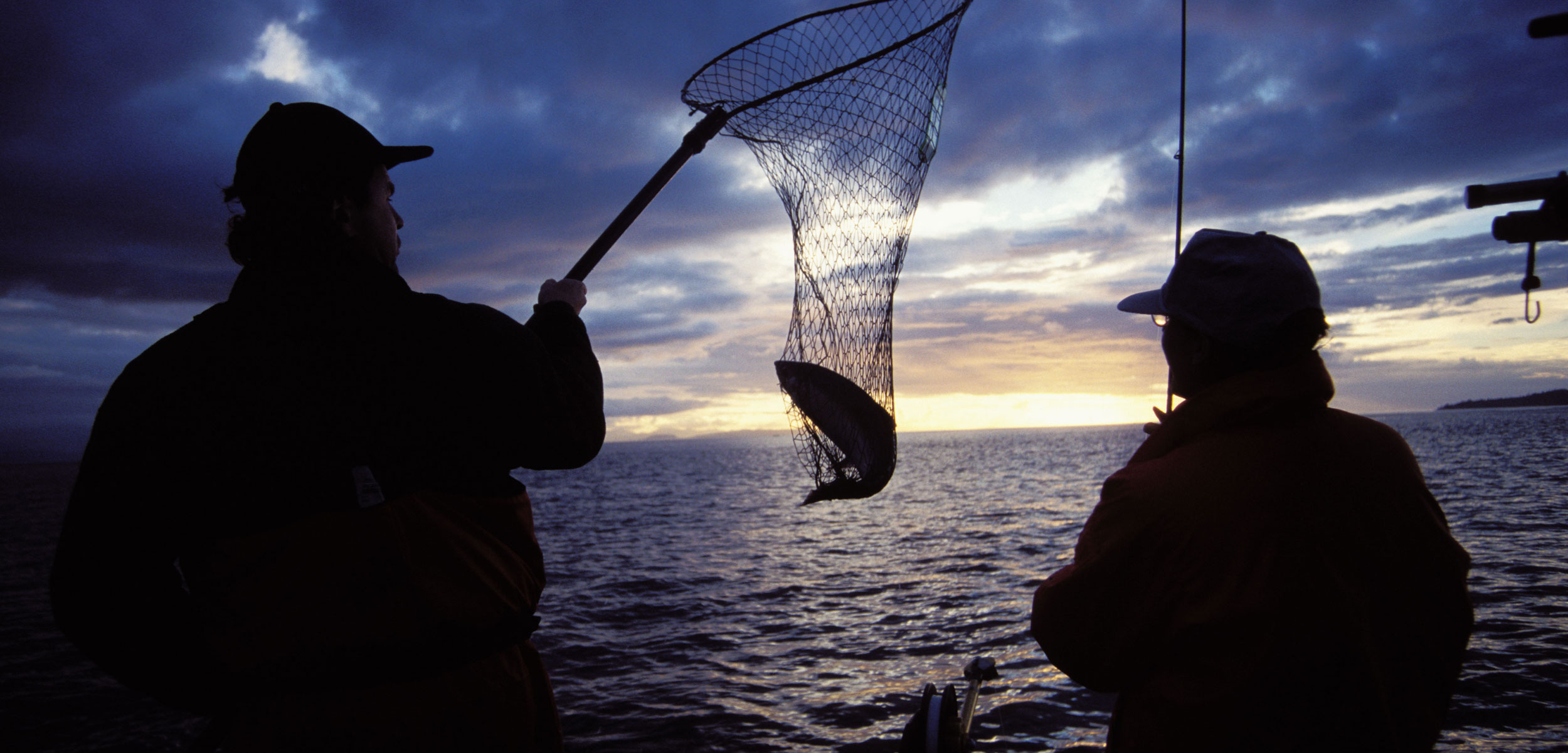 salmon fishers in British Columbia