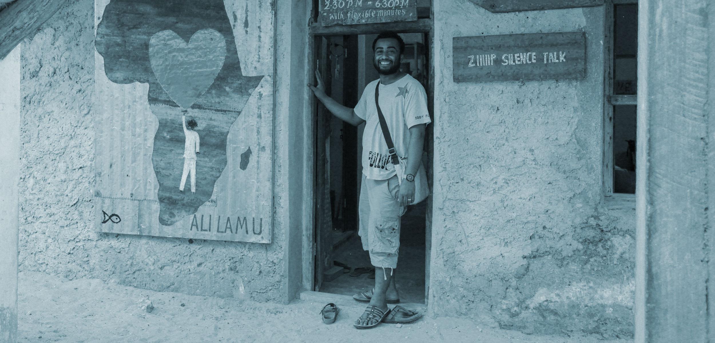 fishing gear upcycler Ali Omar