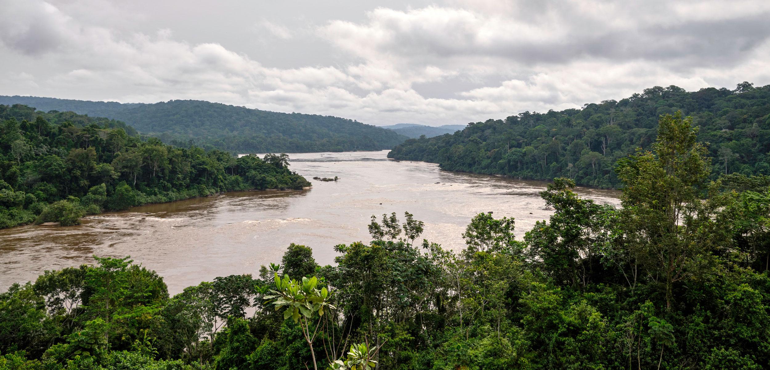 Ogooue river, Gabon