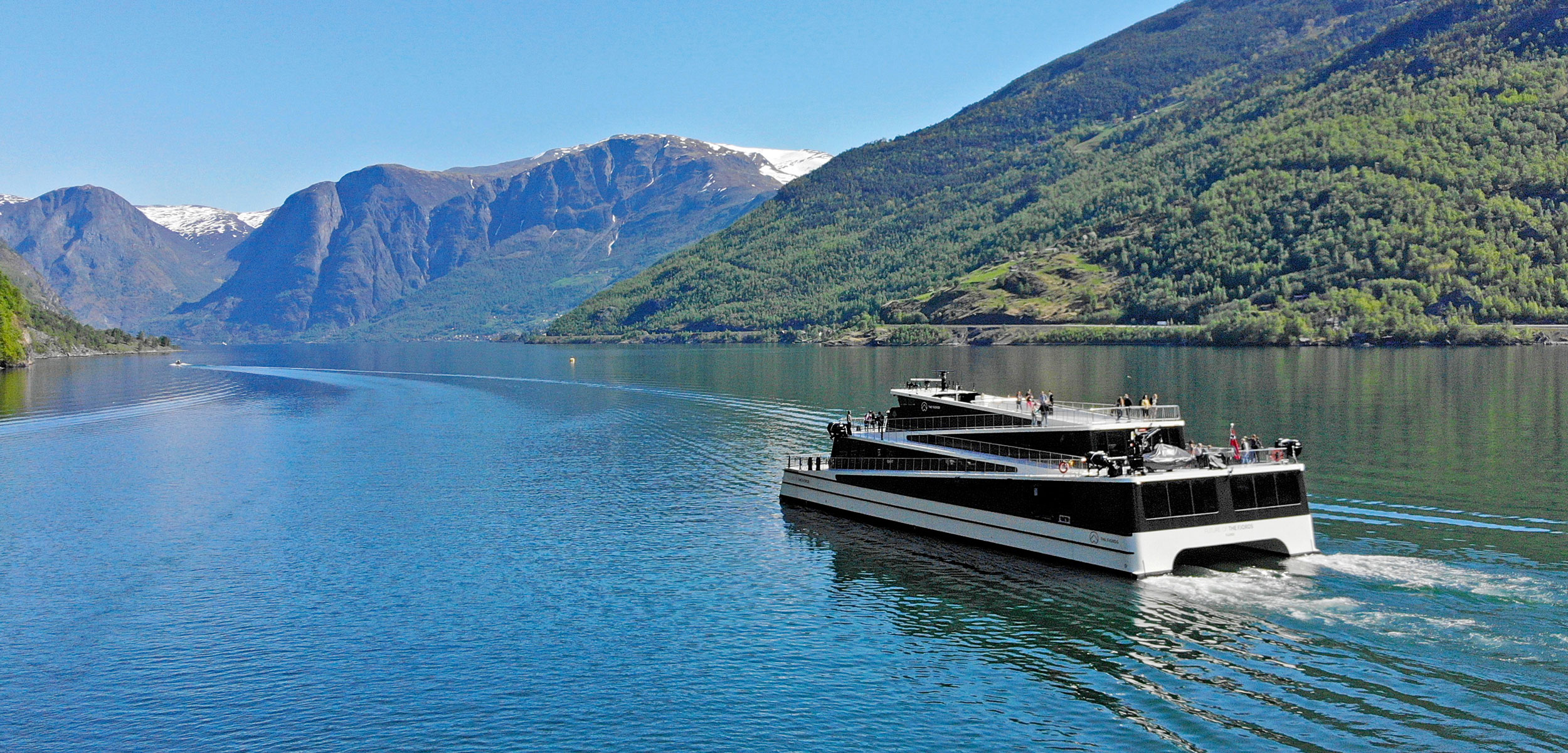 the electric ferry Future of the Fjords
