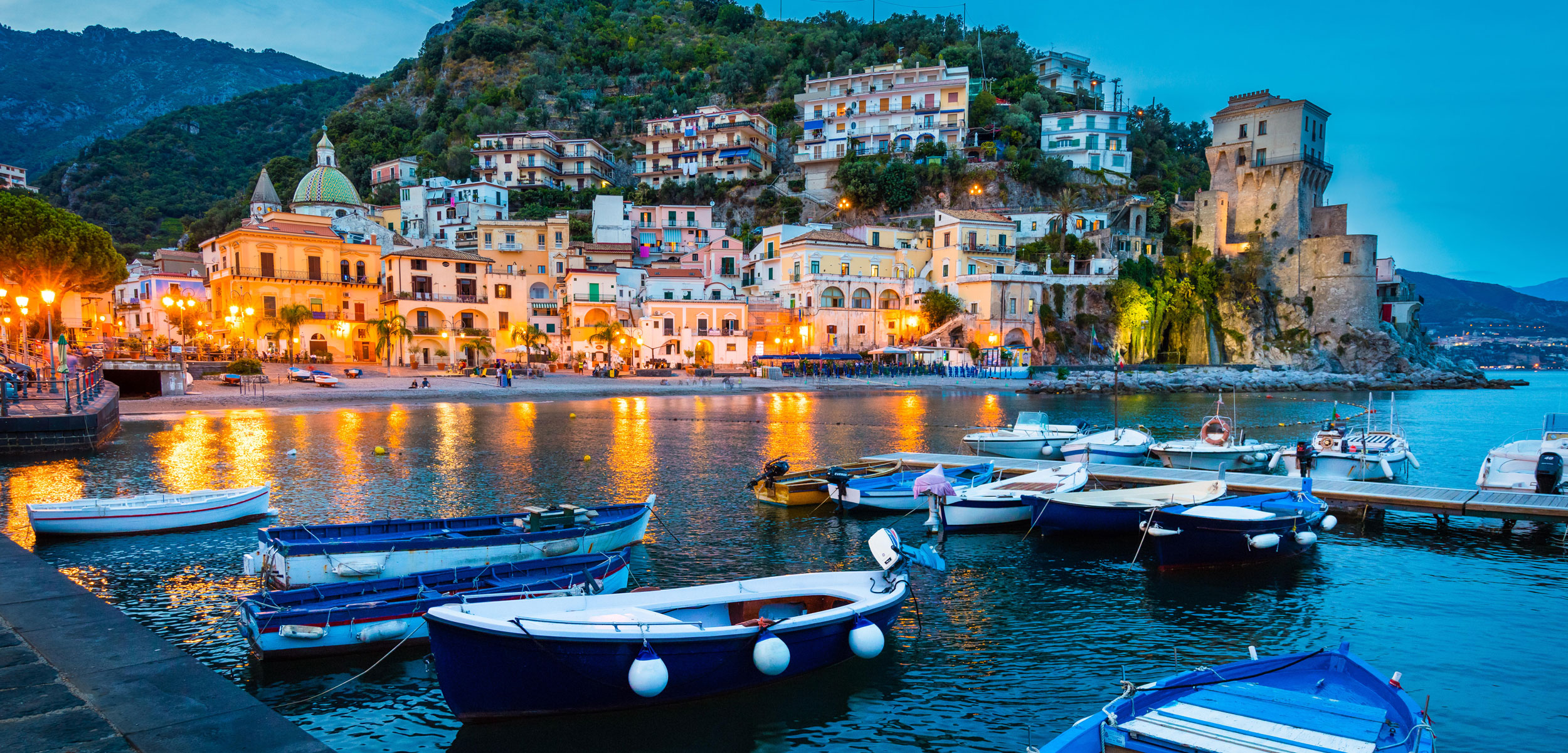 The fishing village of Cetara, Italy