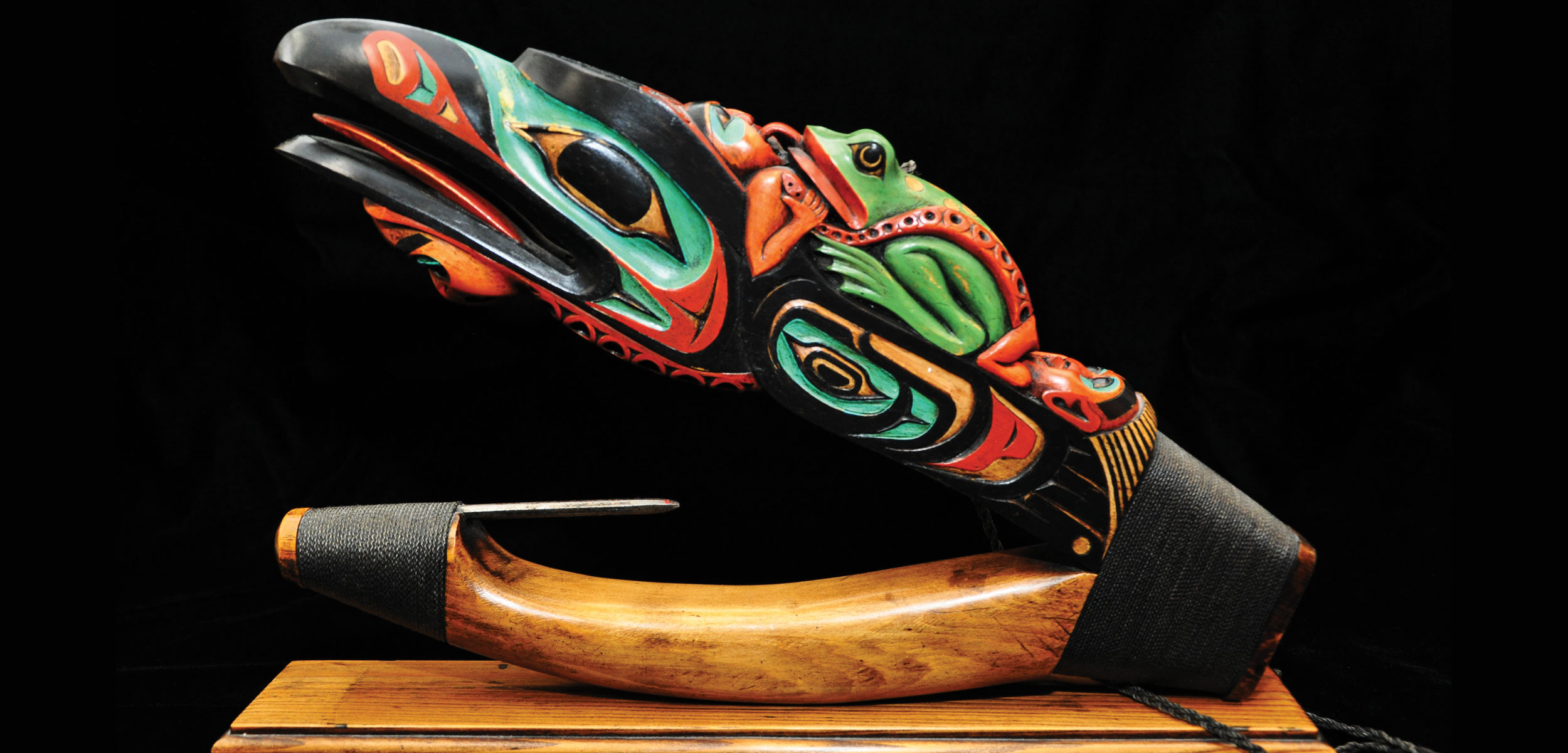 decorative halibut hook