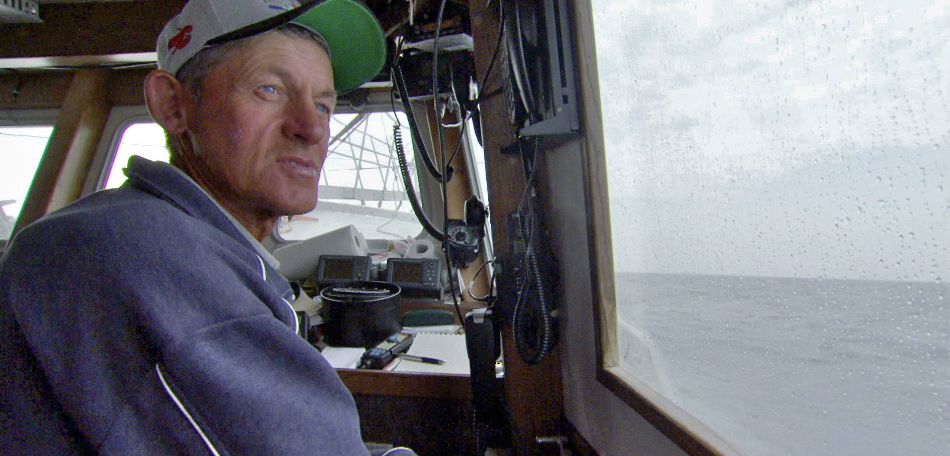 Larry Sears shared his passion and ideas for the sustainable harvest of swordfish in the television series, Saving the Ocean. Photo by John Angier, Saving the Ocean