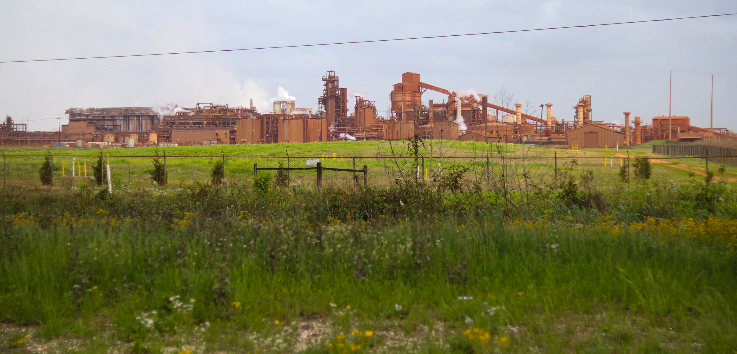 alumina refinery, St. James Parish, Louisiana