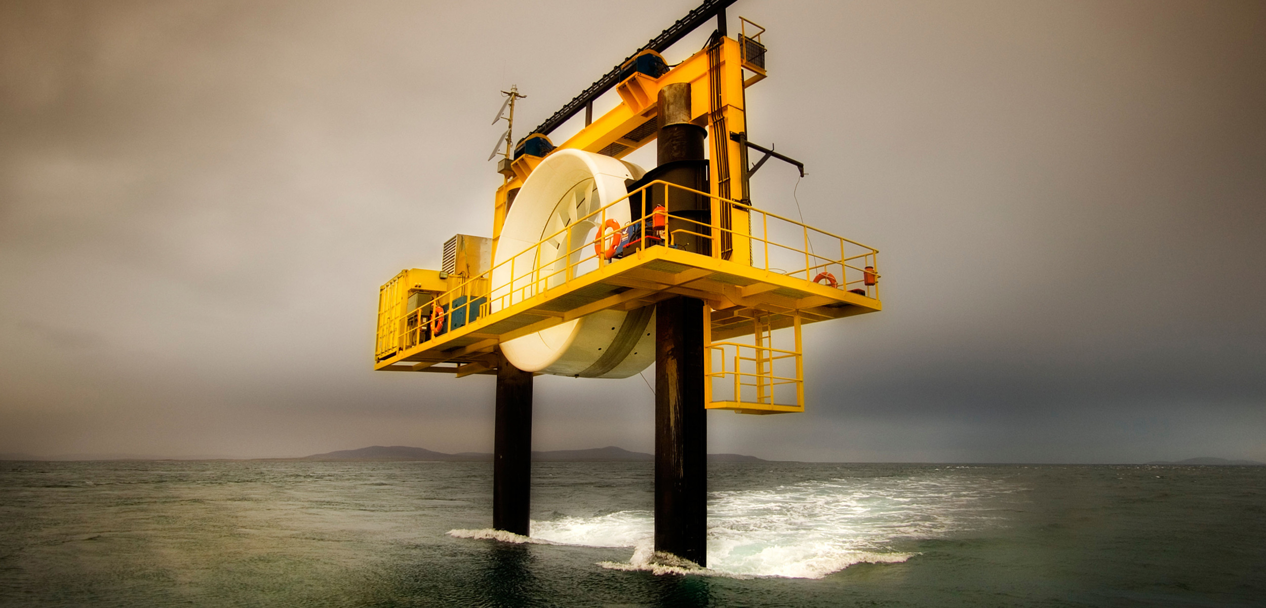 a tidal turbine power generator