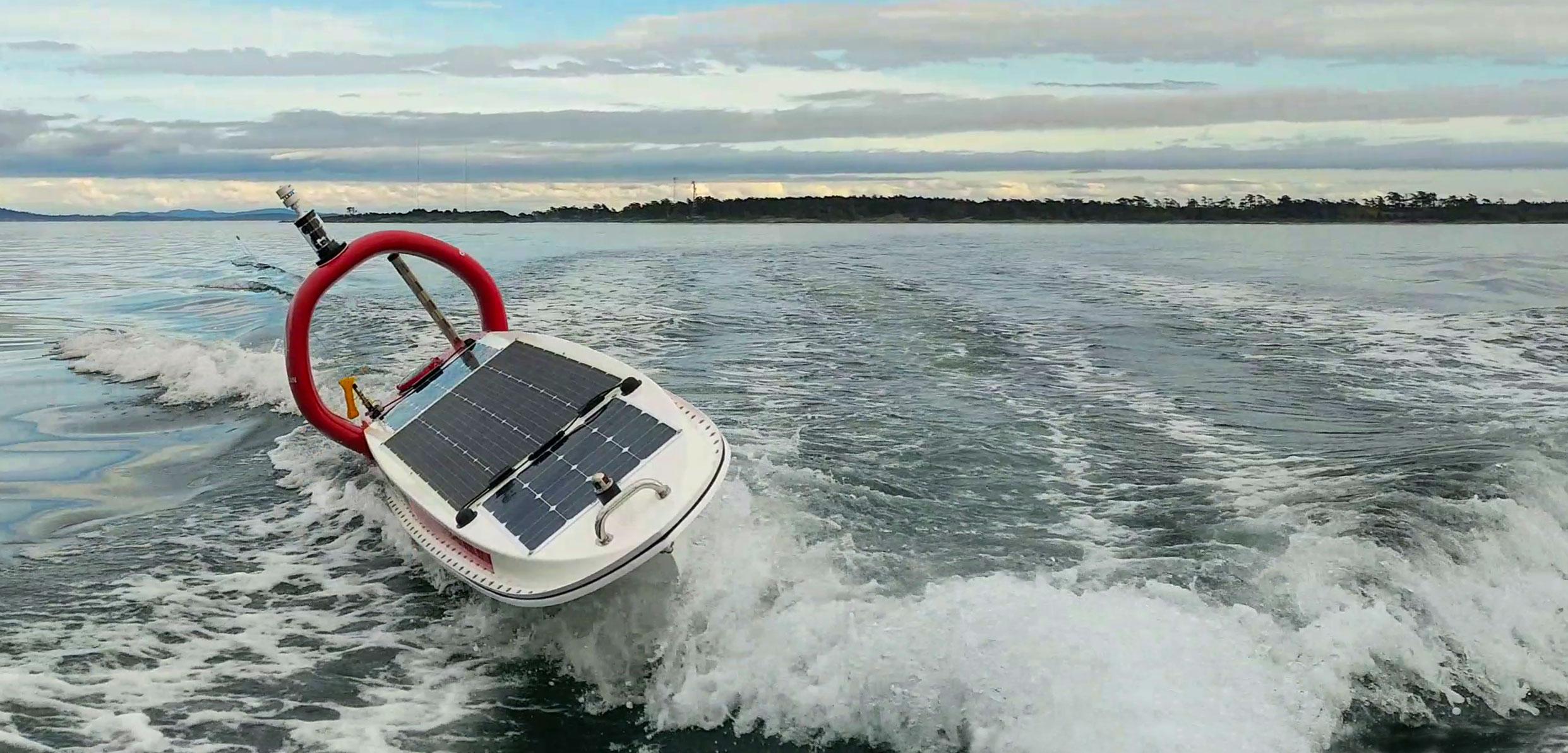 Daphne, an autonomous solar-powered vessel
