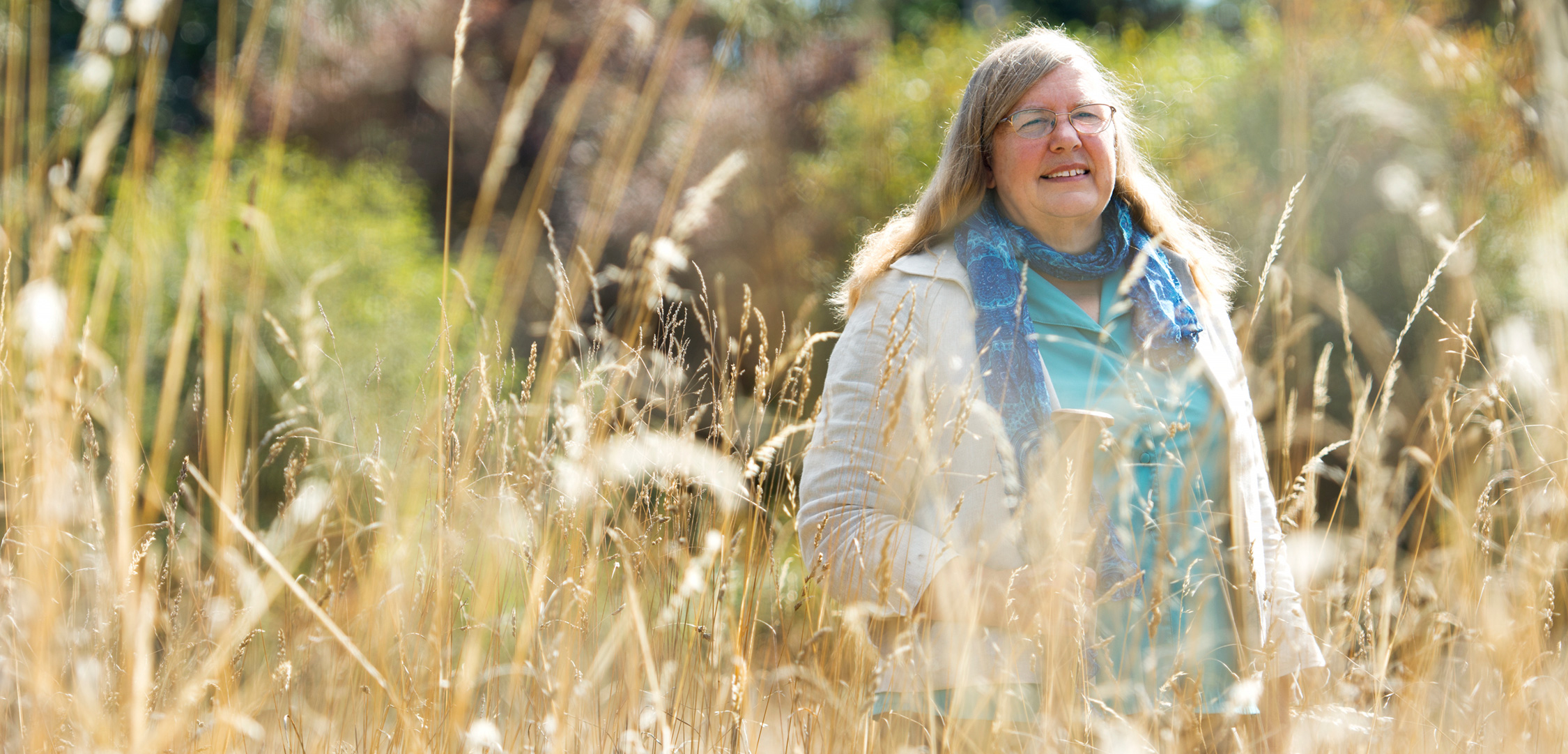 For decades, ethnobotanist Nancy Turner has roamed Canada's west coast, recording how First Nations elders dug roots, picked berries, and prepared ancient foods. Photo by UVic Photo Services