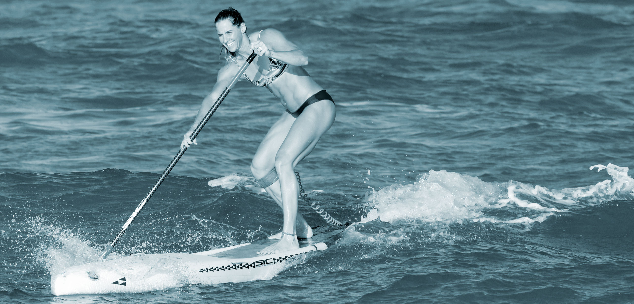 pro stand-up paddleboarder Seychelle