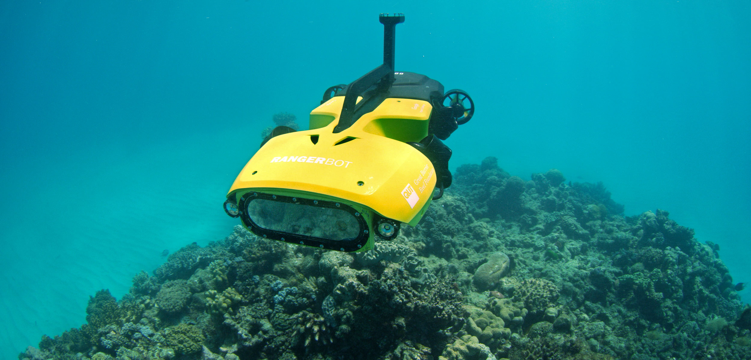 RangerBot underwater