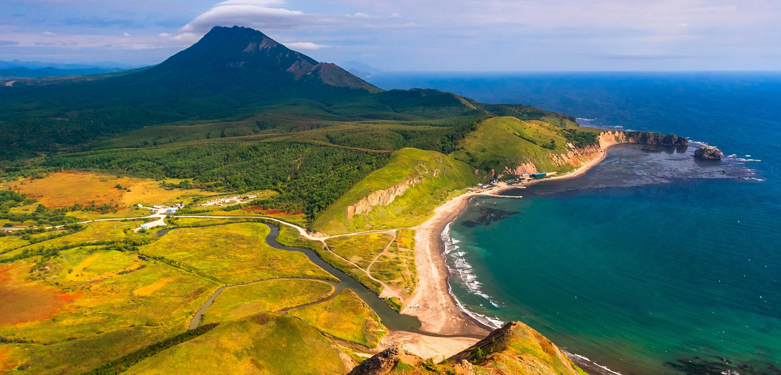 Tikhaya Bay, Sakhalin Island, Russia