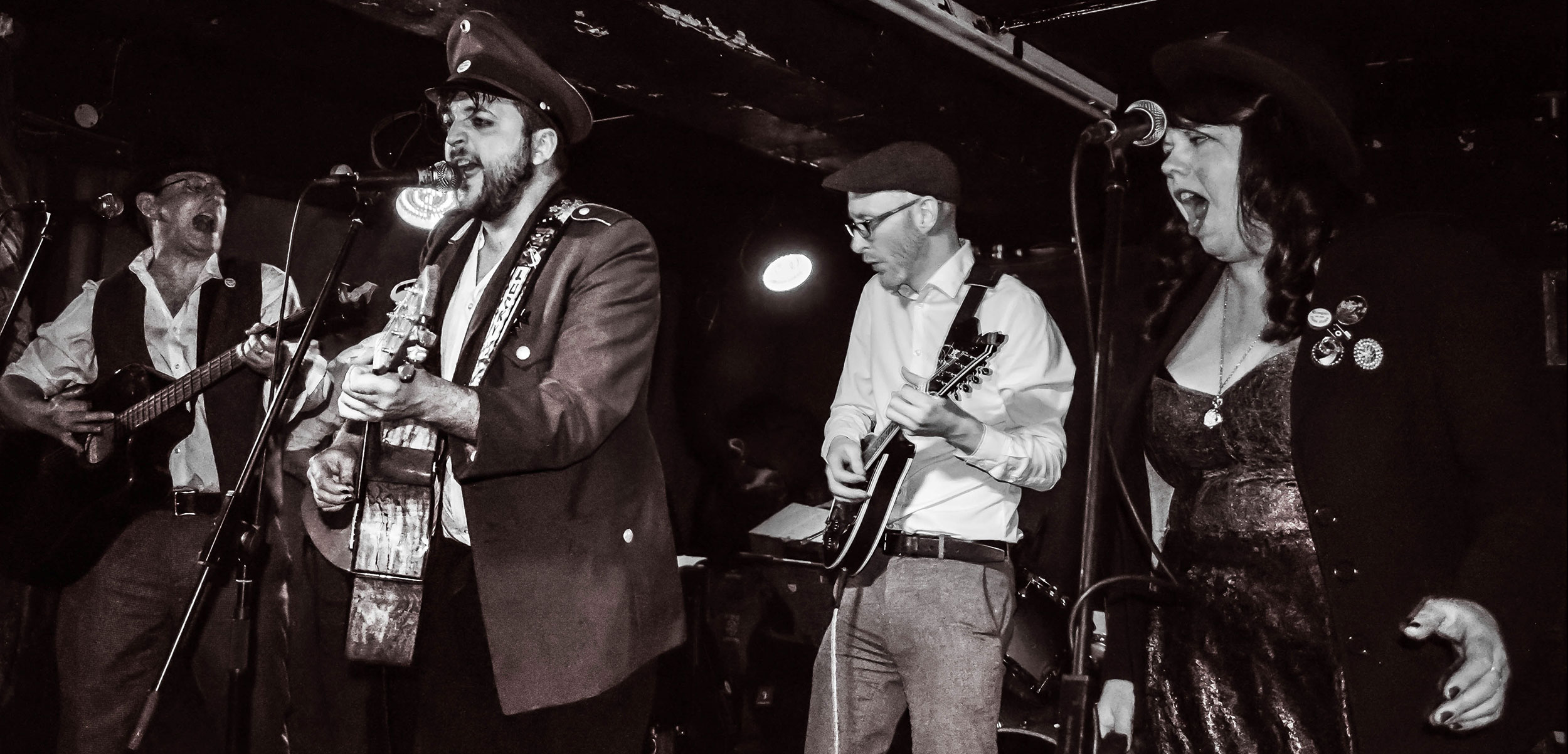 The Trongate Rum Riots, one of the many modern bands keeping traditional sea shanties alive. Photo by Gobophotography Glasgow