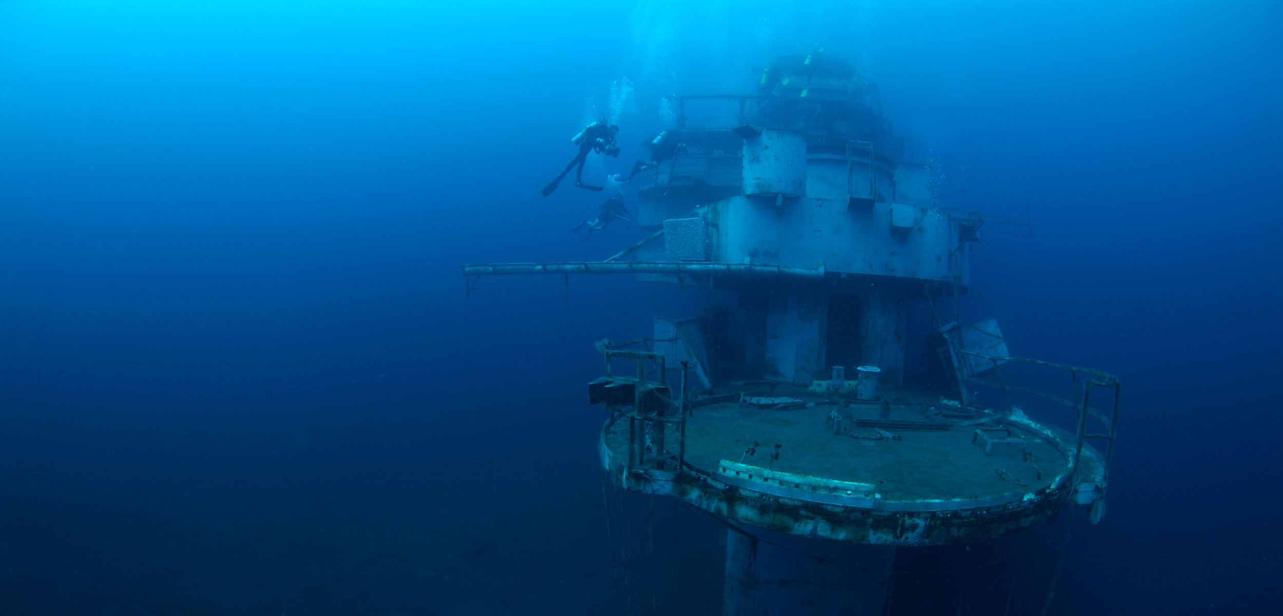 Oriskany wreck sunk off Pensacola, Florida Gulf of Mexico
