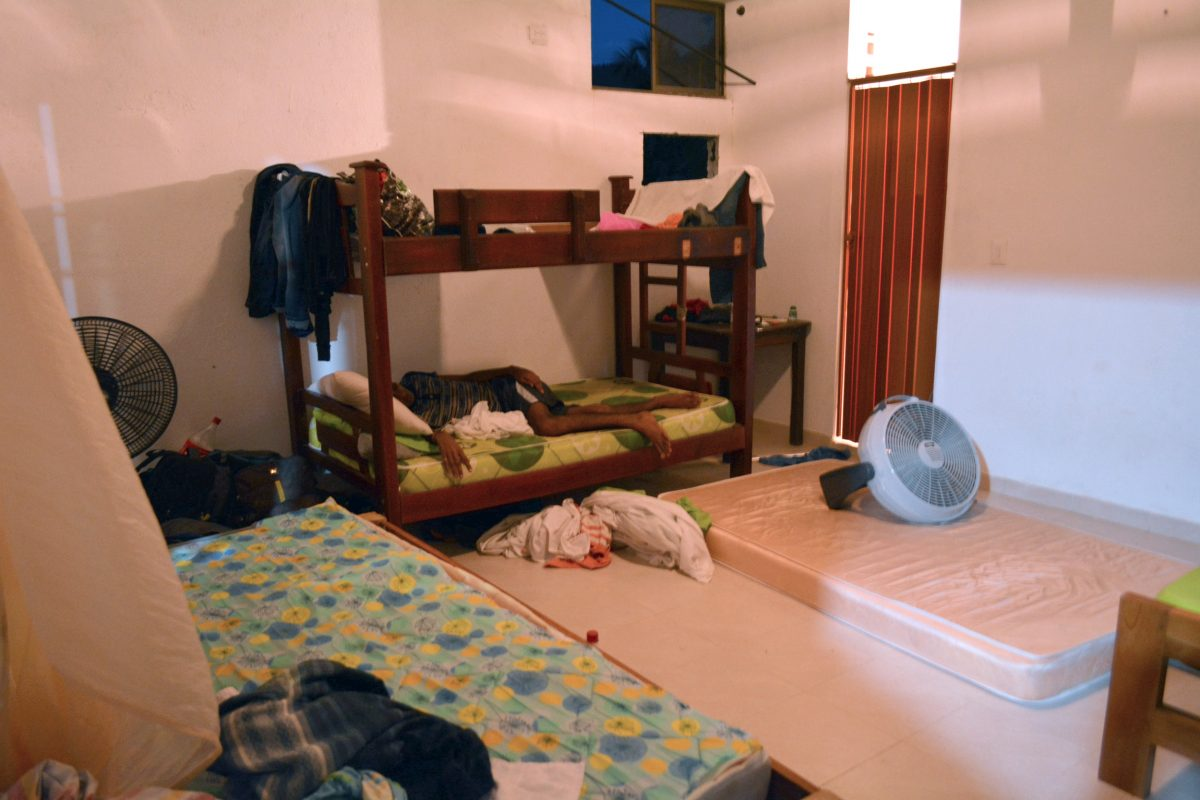 Low-budget hotel in Turbo, Colombia