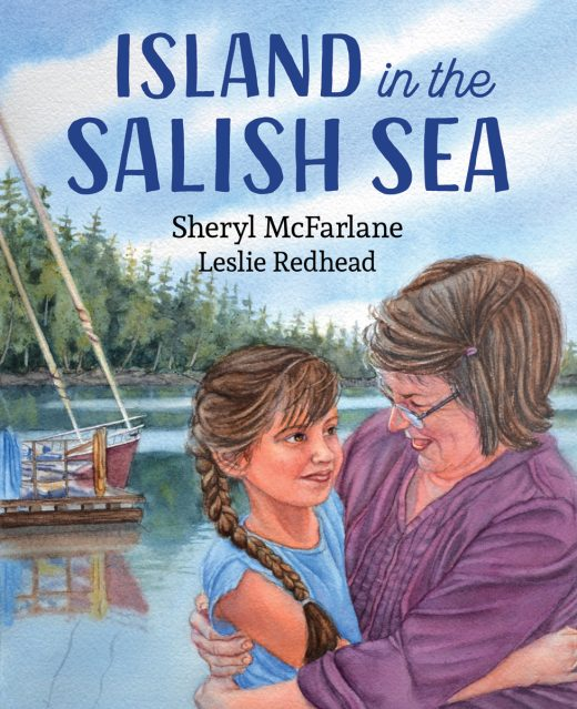 Cover image of Island in the Salish Sea