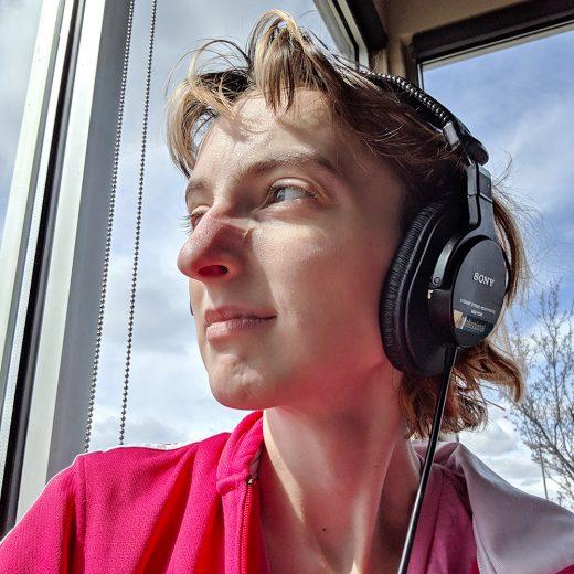 writer Lucy Merriman