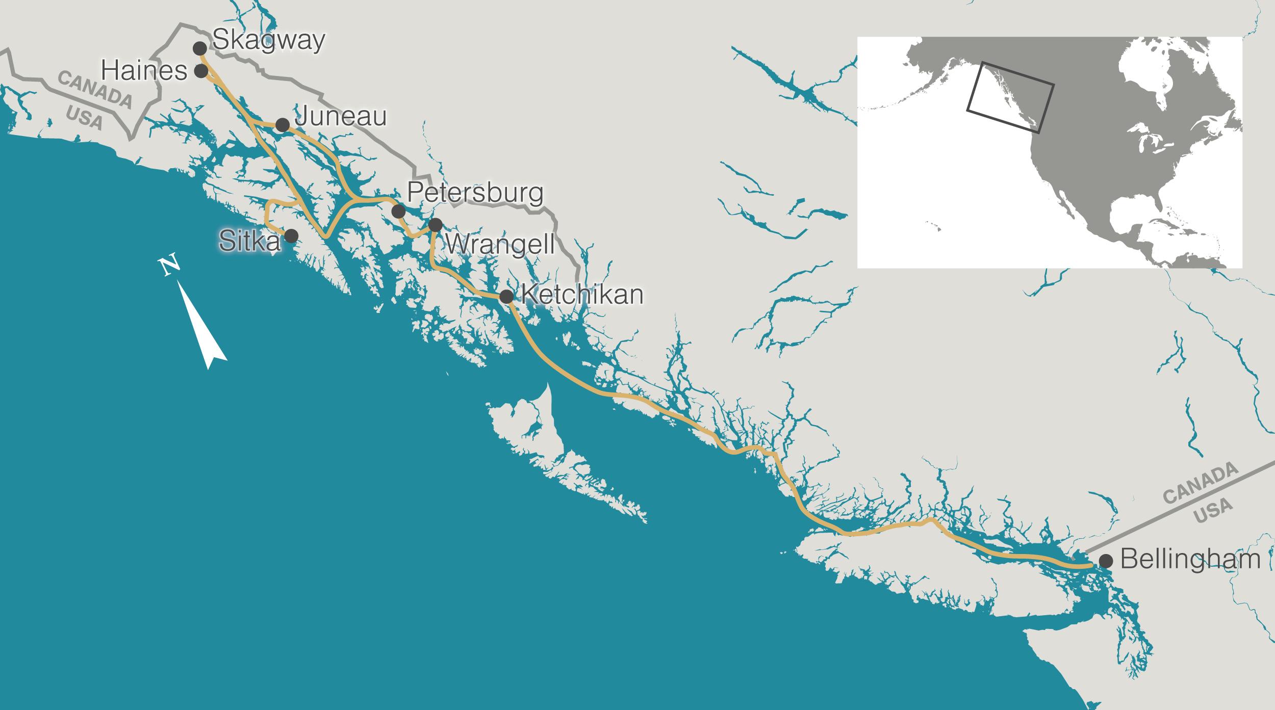 An Alaskan Voyage to Track Ocean Acidification | Hakai Magazine on ketchikan walking map, wasilla map, ketchikan alaska map, glacier bay alaska map, white pass alaska map, dawson city alaska map, whittier alaska map, palmer alaska map, tracy arm alaska map, sitka alaska map, dutch harbor alaska map, seward alaska map, juno alaska map, nulato alaska map, victoria bc map, hubbard glacier map, juneau map, unalakleet alaska map, kenai alaska map, north pole map,
