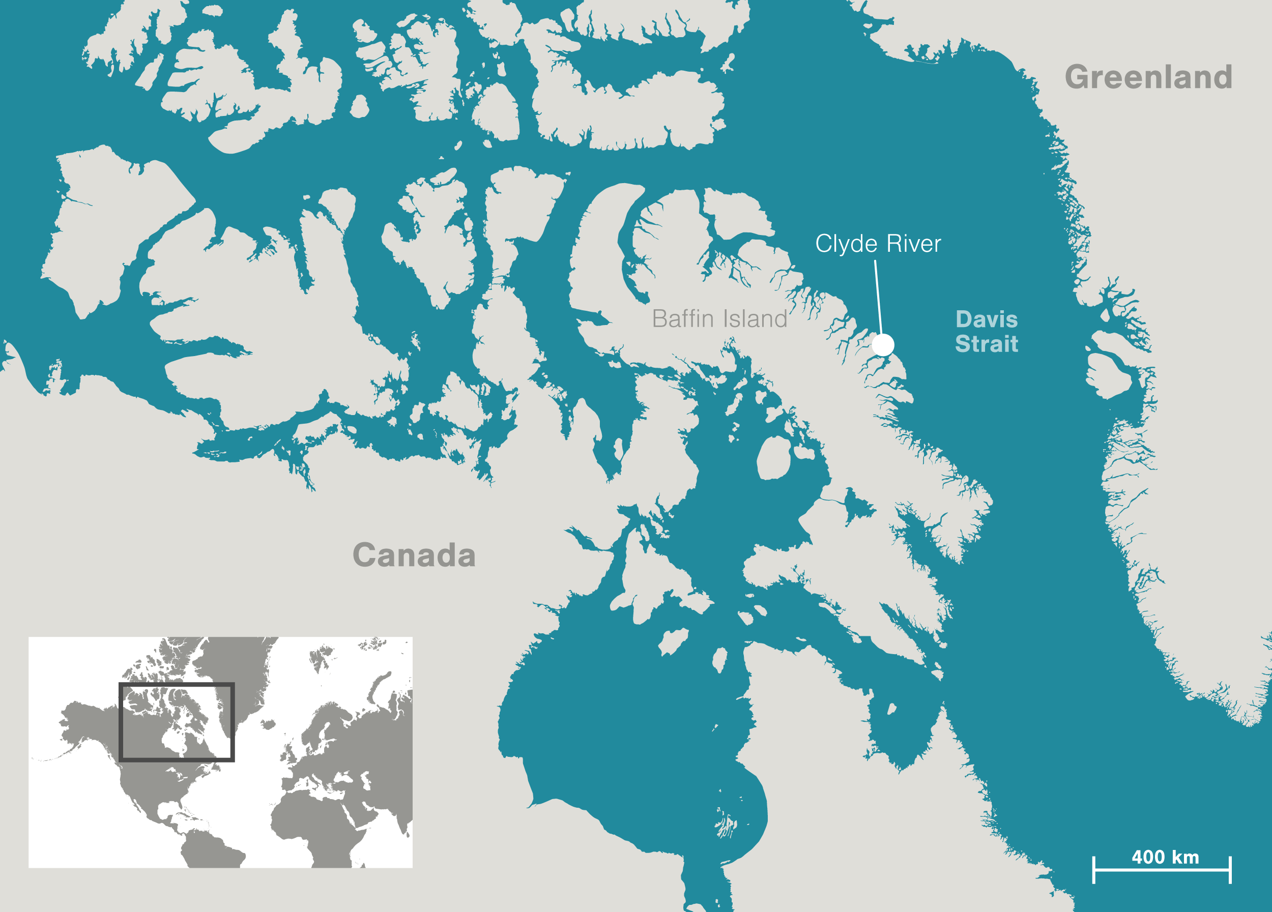 Map Of Canada Davis Strait.An Act Of Forgiveness Fuels A Fight In The Arctic Hakai Magazine