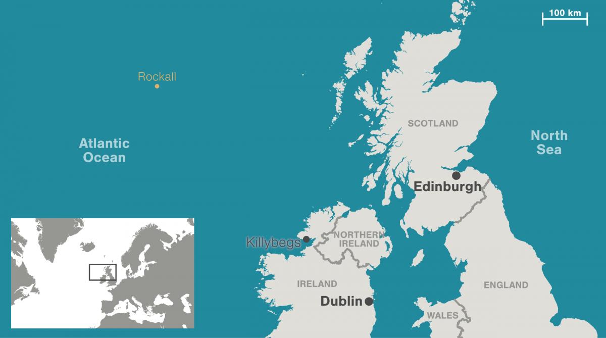 map of Rockall